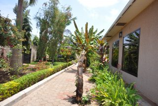 Side view of the Five Bedroom House for Rent in Maji ya Chai by Tanganyika Estate Agents