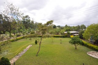 Lawn of the Four Bedroom House in Mateves, Arusha by Tanganyika Estate Agents