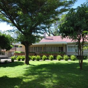 Lawn View of the Four Bedroom House for Rent in Corridor Area in Arusha by Tanganyika Estate Agents
