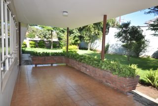 The Veranda of the Four Bedroom House for Rent in Corridor Area in Arusha by Tanganyika Estate Agents