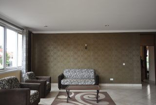 Living Room of the Furnished Three Bedroom Apartment in Njiro, Arusha by Tanganyika Estate Agents