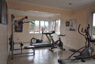 Shared Gym of the Furnished Three Bedroom Apartment in Njiro, Arusha by Tanganyika Estate Agents