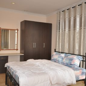 One of the Bedroom of the Furnished Three Bedroom Apartment in Njiro, Arusha by Tanganyika Estate Agents