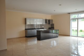 The Kitchen of the Furnished Three Bedroom Apartment in Njiro, Arusha by Tanganyika Estate Agents