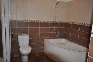 One of the Bathroom of the Furnished Three Bedroom Apartment in Njiro, Arusha by Tanganyika Estate Agents