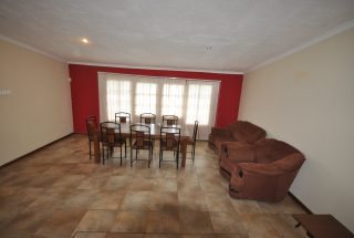 The furnished Living Room of the Three Bedroom Furnished Home by Tanganyika Estate Agents