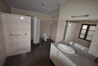 One of the Bathroom of the Three Bedroom Furnished Home by Tanganyika Estate Agents