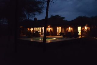 Night Time View of the Four Bedroom House for Sale in Kili Golf, Arusha by Tanganyika Estate Agents