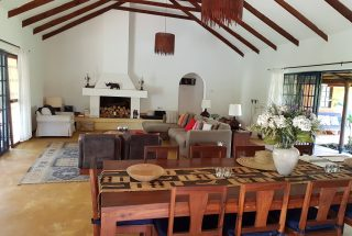 Dining Room & Living Room of the Four Bedroom House for Sale in Kili Golf, Arusha by Tanganyika Estate Agents