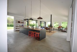 Kitchen, Dining & Living Rooms of the Three Bedroom House for Sale in Kili Golf by Tanganyika Estate Agents