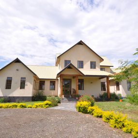 Front View of the Three Bedroom Home for Sale in Arusha by Tanganyika Estate Agents