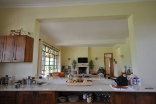 A Kitchen of the Three Bedroom Home for Sale in Arusha by Tanganyika Estate Agents