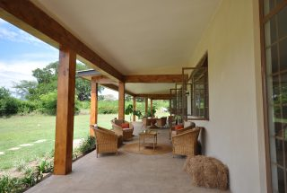 One of the Verandas of the Three Bedroom Home for Sale in Arusha by Tanganyika Estate Agents