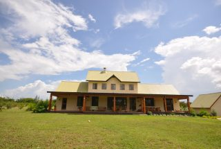 Back View of the Three Bedroom Home for Sale in Arusha by Tanganyika Estate Agents