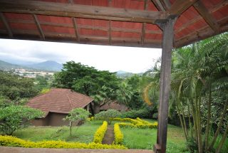 View from the back of the 4 Bedroom Home for Sale in Njiro, Arusha by Tanganyika Estate Agents