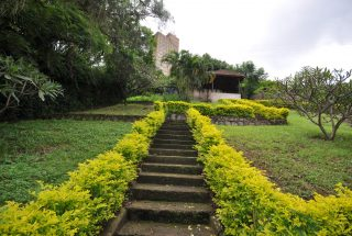 Garden & Staircase of the 4 Bedroom Home for Sale in Njiro, Arusha by Tanganyika Estate Agents
