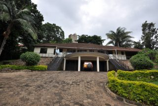 Front of the 4 Bedroom Home for Sale in Njiro, Arusha by Tanganyika Estate Agents