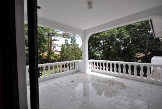 Balcony of the Four Bedroom Furnished Home in Njiro, Arusha by Tanganyika Estate Agents