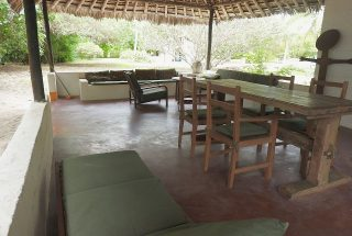 The Veranda on the Beachfront Property for Sale in Mwarongo by Tanganyika Estate Agents