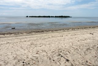 The Beach on the Beachfront Property for Sale in Mwarongo by Tanganyika Estate Agents