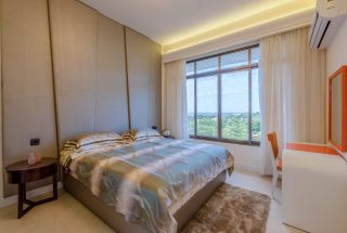 A Bedroom of the Two Bedroom Apartment for Sale on Coral Lane, Masaki, Dar es Salaam