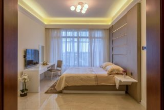 Master Bedroom of the Two Bedroom Apartment for Sale on Coral Lane, Masaki, Dar es Salaam