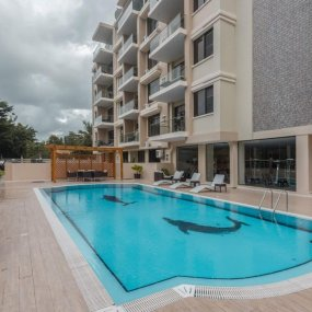 The Swimming Pool of the Two Bedroom Apartment For Rent in Masaki