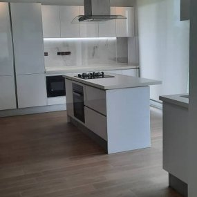 The Kitchen of one the Fully Furnished Apartments in Dar es Salaam