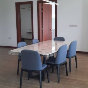 The Dining Room of one of the Fully Furnished Apartments in Dar es Salaam