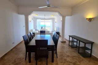 Three Bedroom Ocean View Furnished Apartment
